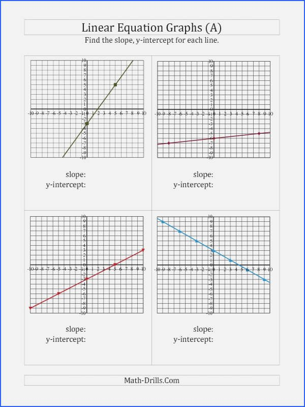 Writing Equations Of Lines Worksheet Elegant Sketch and Write the Equation for Each Line Worksheet
