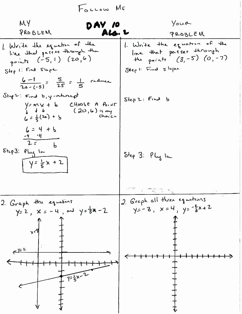 Writing Linear Equations Worksheet Answers Lovely Standard form A Linear Equation Worksheet Pdf Answer