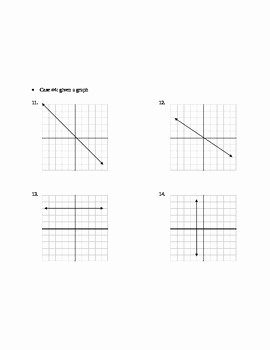 Writing Linear Equations Worksheet Answers Luxury Writing Linear Equations Worksheet by Laurence Shauby
