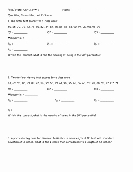 Z Score Practice Worksheet Elegant Z Scores Worksheet