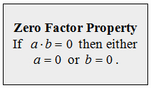 Zero Product Property Worksheet Awesome Openalgebra solving Equations by Factoring