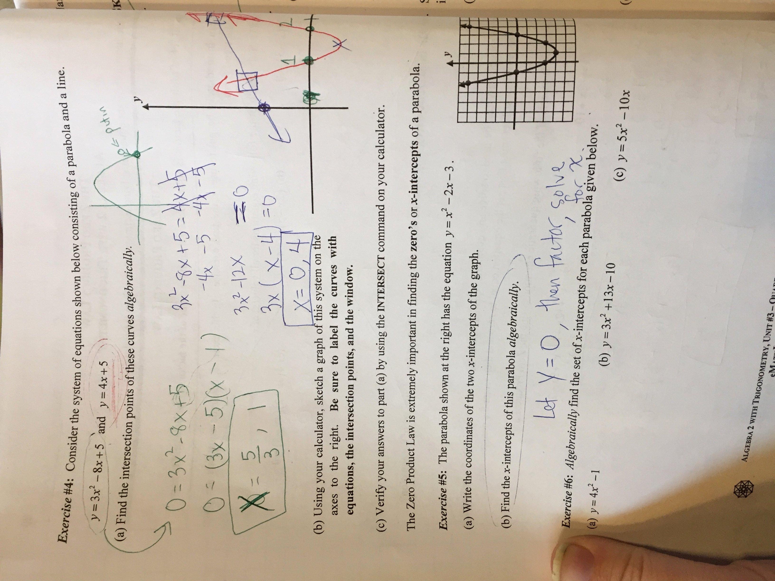 Zero Product Property Worksheet Elegant Unit 3 Quadratic Functions Lizzy S Classroom